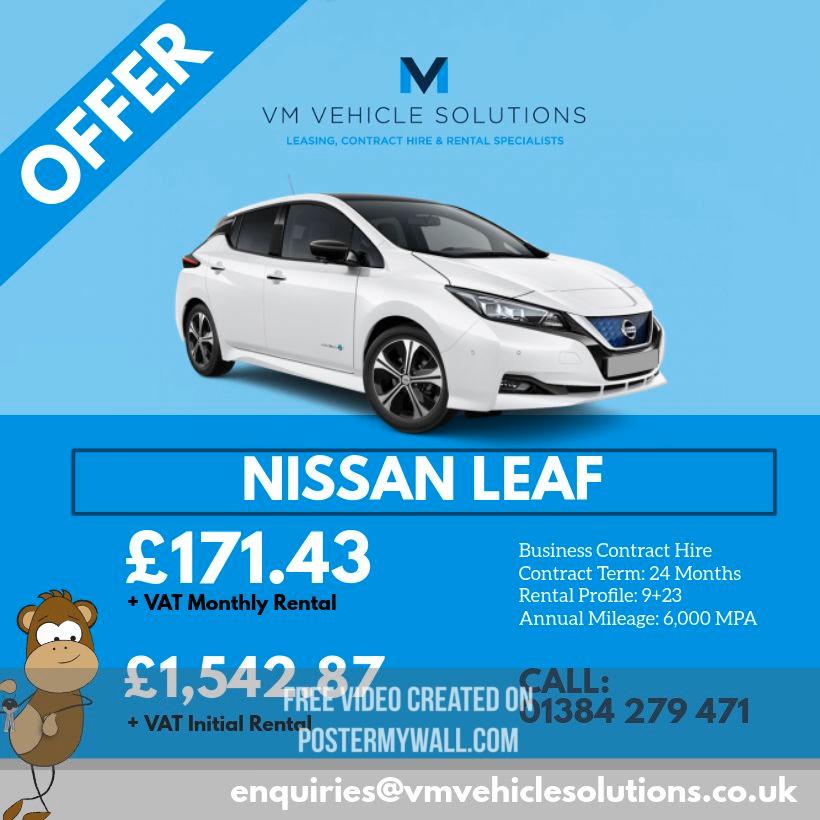 Wow! Great offer on the Nissan Leaf!   #nissanleaf #nissan #electriccar #hybridcars