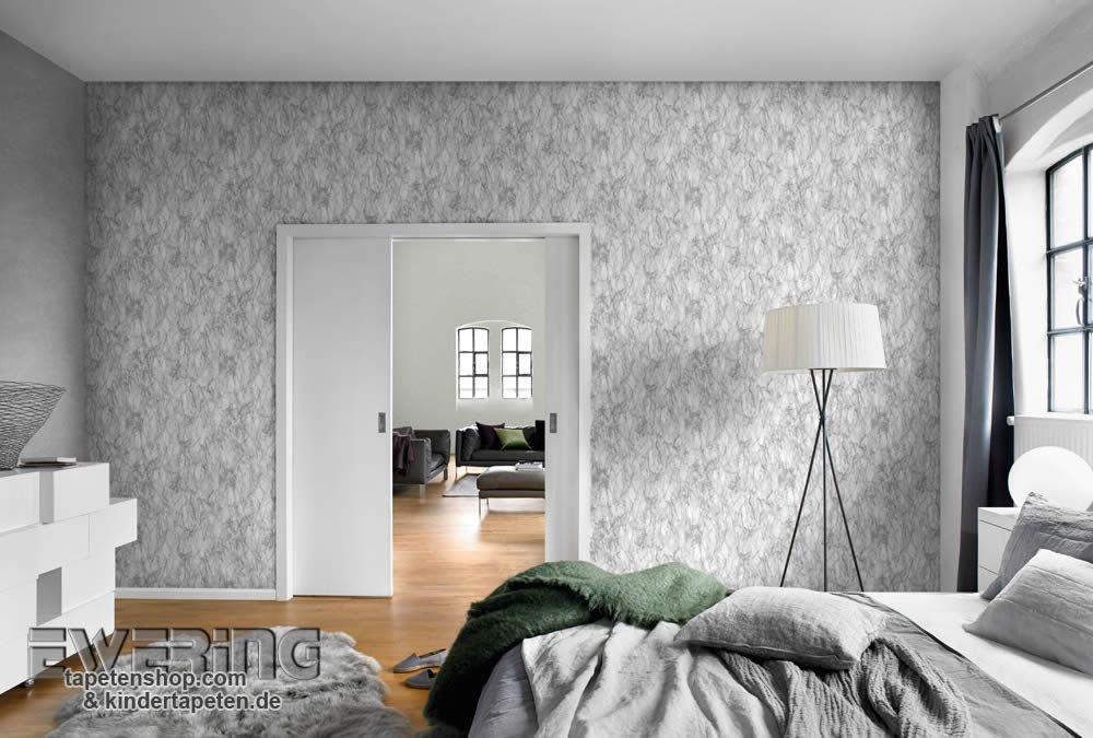 Rasch Factory 04 - Diese glatte Tapete mit Marmor-Optik wirkt - moderne tapeten schlafzimmer