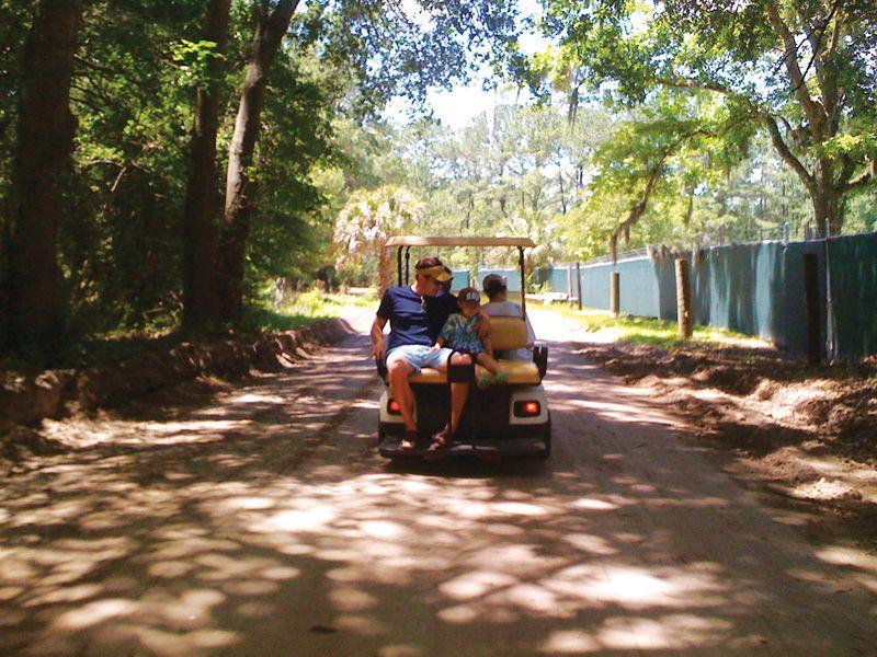 5 rent a golf cart explore daufuskie golf carts