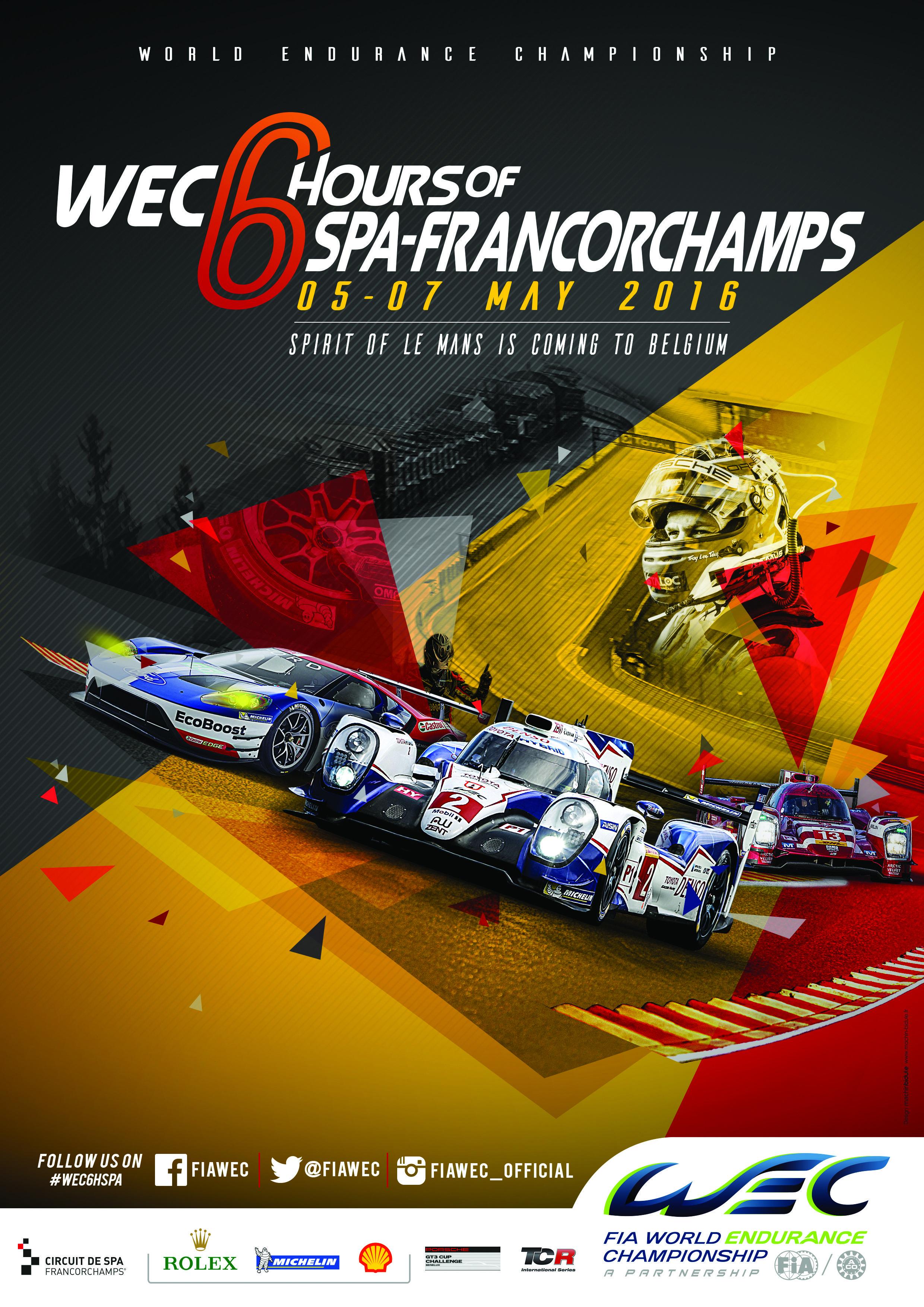 Calendar Fia World Endurance Championship Motorsport Art Event Poster Racing Posters