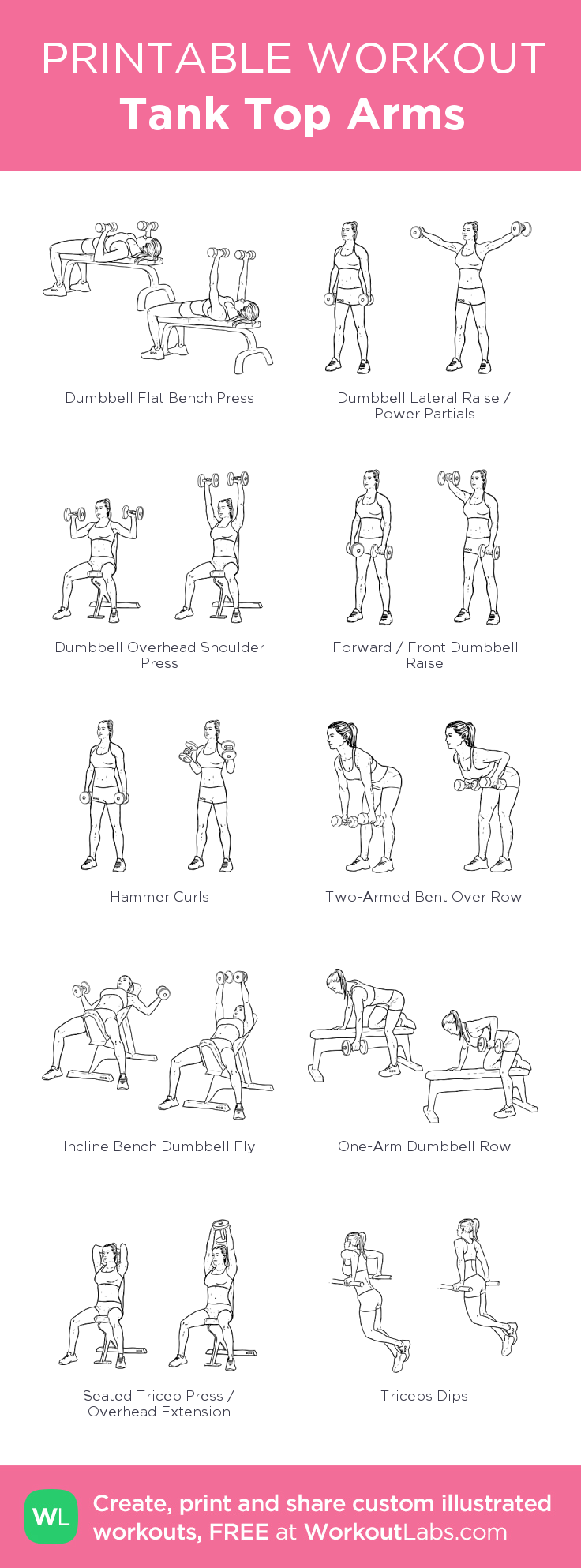 Tank Top Arms : my visual workout created at WorkoutLabs.com ...