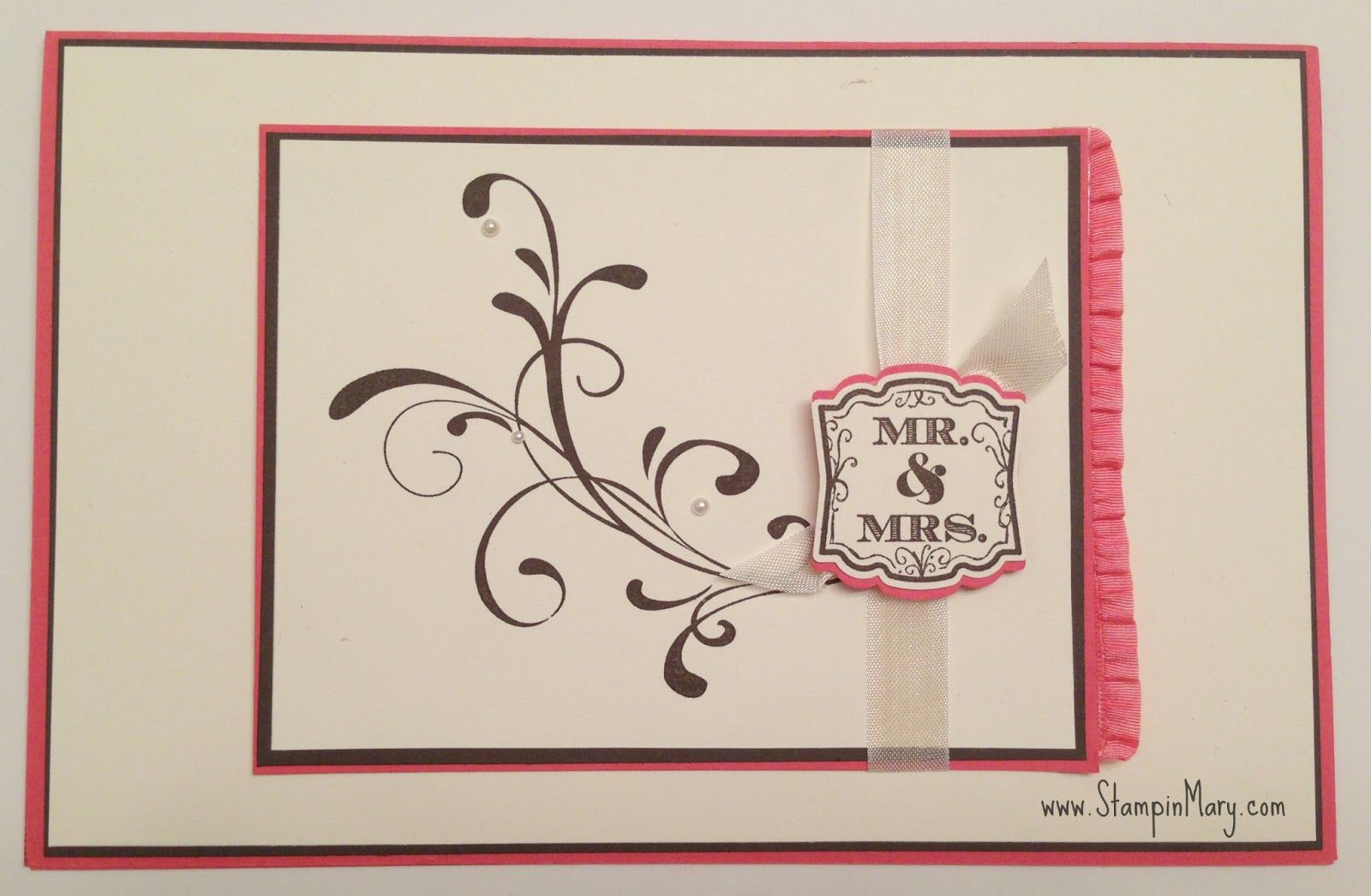 Stampin Mary Stampin Up Wedding Card Card Ideas Pinterest