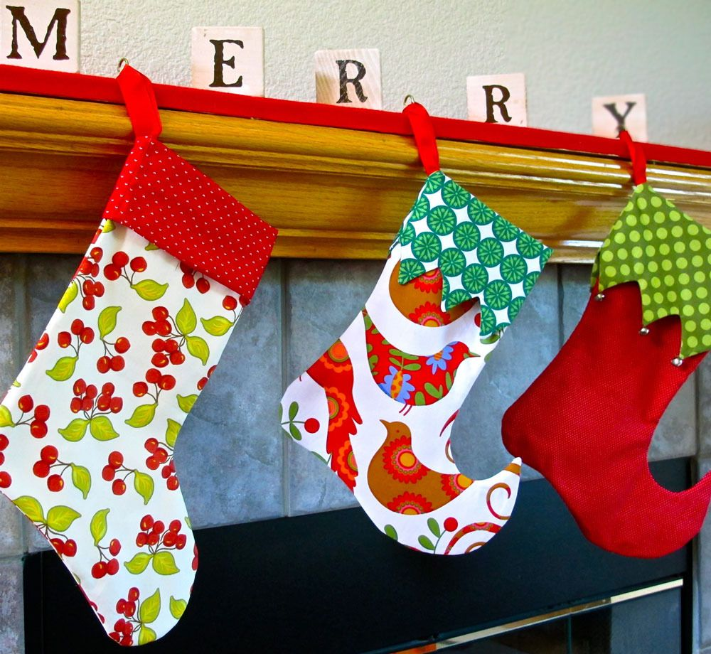 Christmas stocking pattern elf or traditional printable sewing christmas stocking pattern elf or traditional printable sewing pattern by tie dye diva patterns jeuxipadfo Gallery