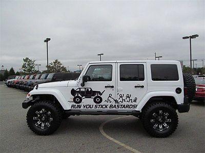 Run Stick Family Jeep Wrangler Rubicon Car Vinyl Graphics 4x4 Mud Dirt J017 Wrangler Car Jeep Wrangler Jeep
