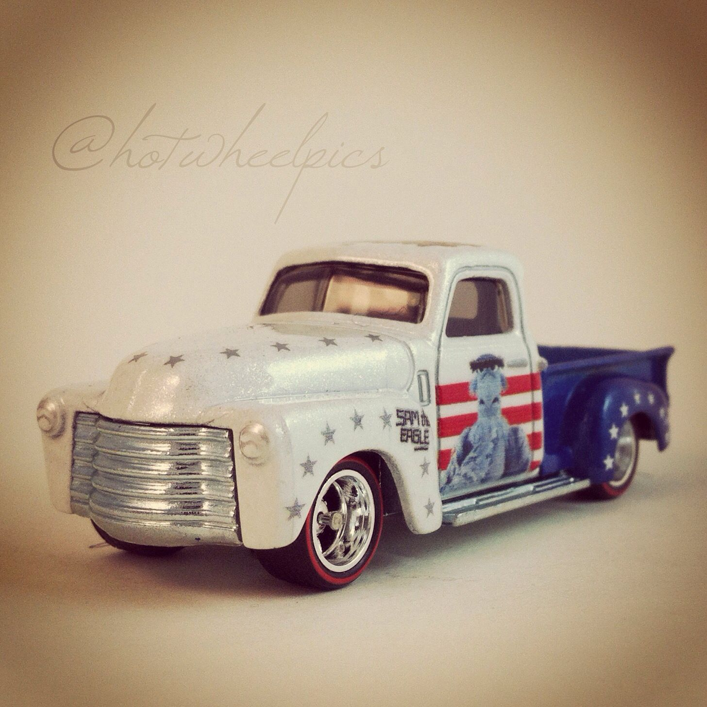 Sam The Eagle 52 Chevy Truck 2014 Hot Wheels Pop Culture