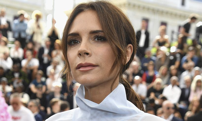 Victoria Beckham Slept In Her Face Mask And This Is What Happened