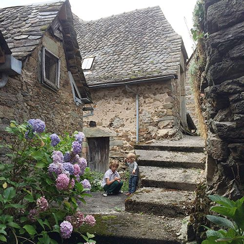 A bit about our house in the Cantal, France - Babyccino kids