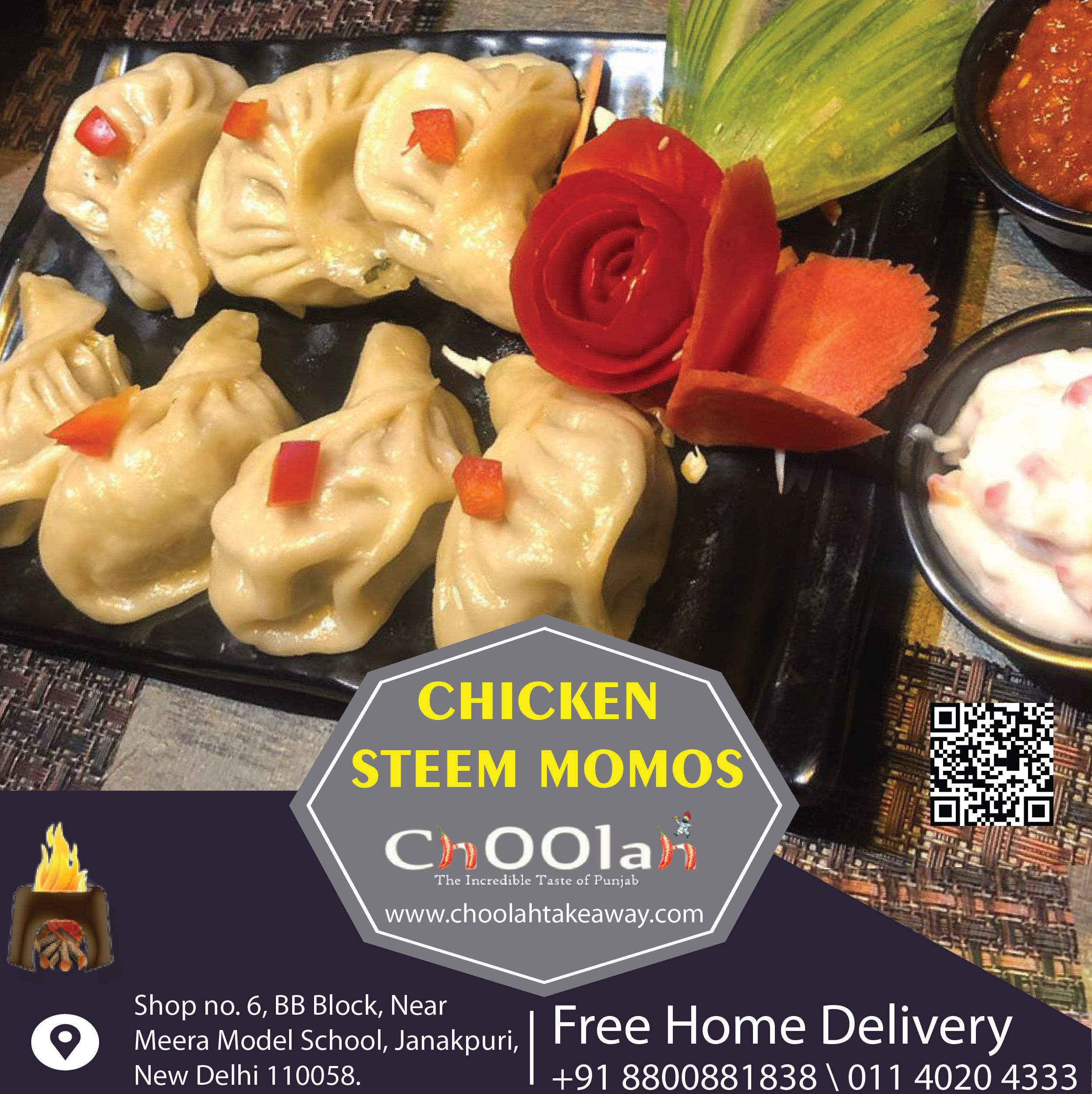 Esteem Chicken Momos Online Food Punjabi Food Mouth Watering