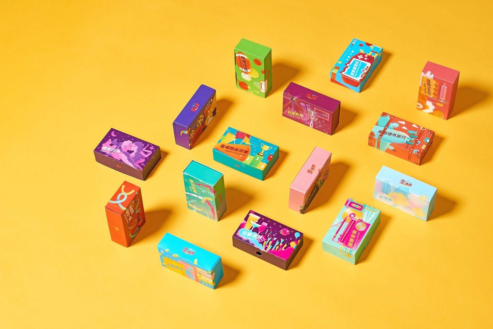 Happy Conduction 樂傳導 Packaging design, Packaging design