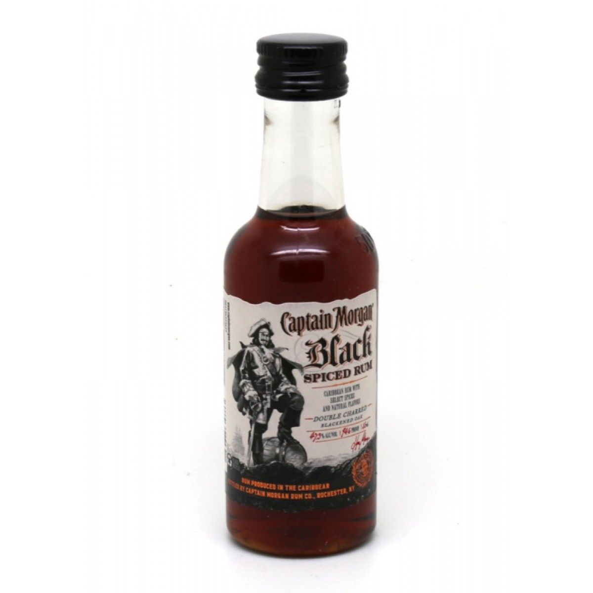 CAPTAIN BLACK CASK SPICED RUM [email protected] - 50 ml | Pinterest ...