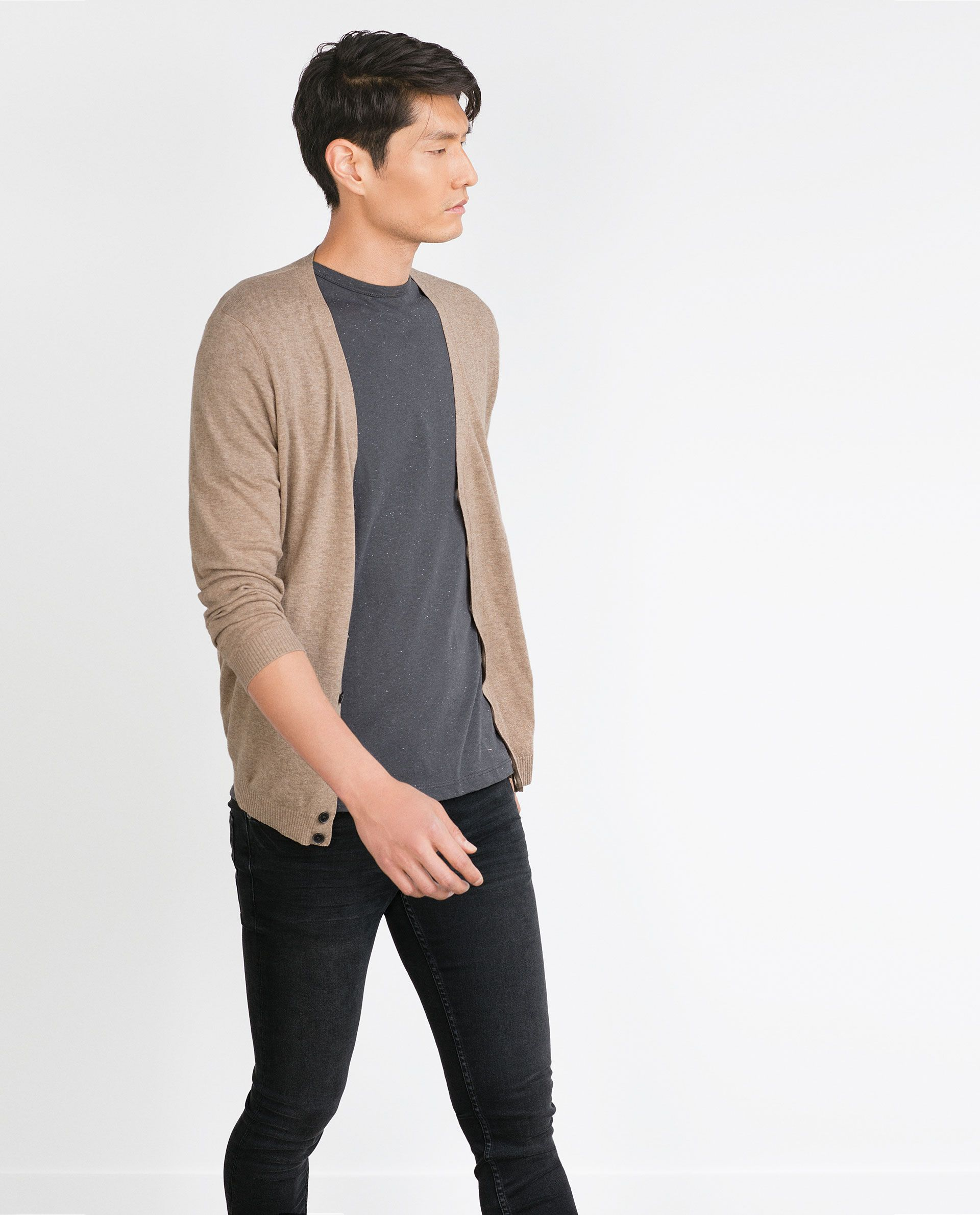 COTTON CARDIGAN - View all - Knitwear - MAN | ZARA Greece