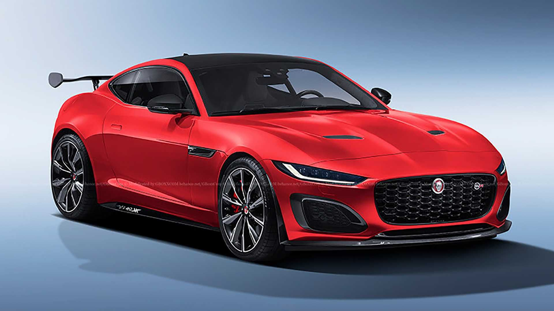 Refreshed Jaguar F Type Svr Rendered Sadly Not Happening Jaguar F Type Jaguar Jaguar Xe