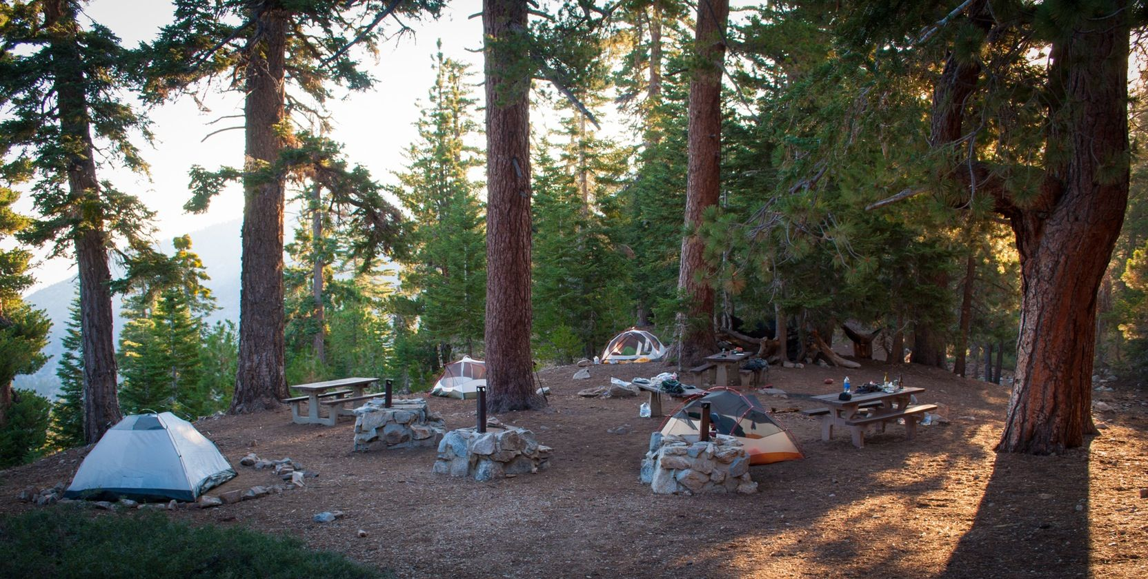 Backpacking to Little Jimmy Camp