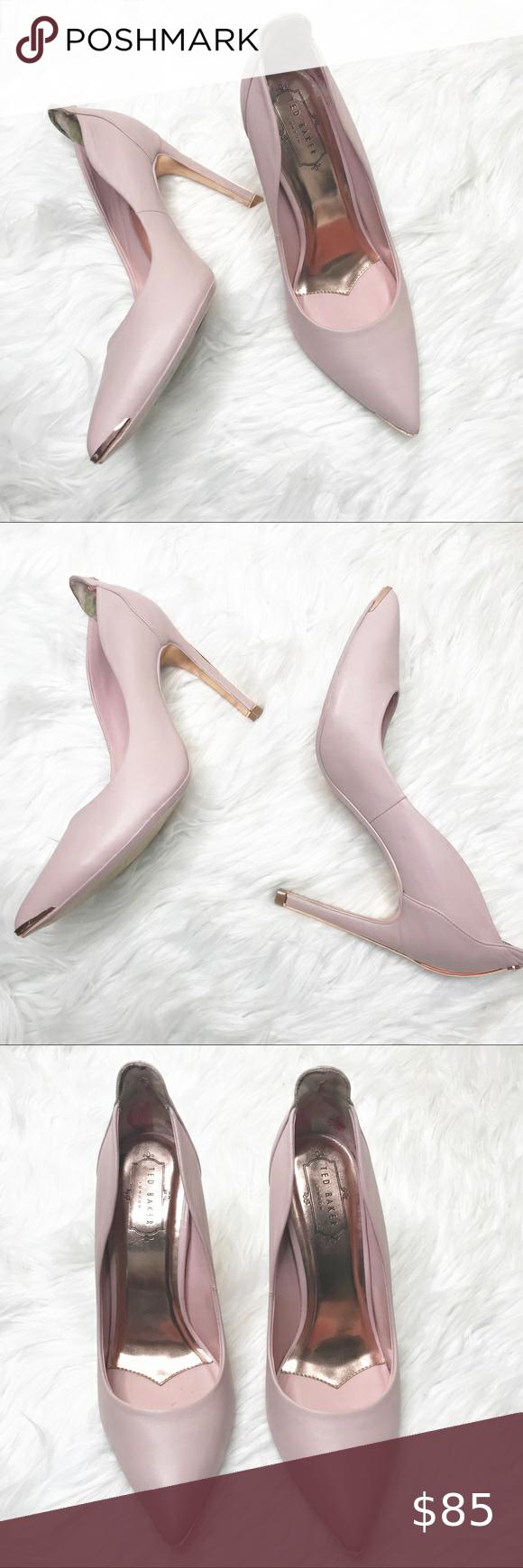 Ted Baker Blush Pink Heels NWOT in 2020