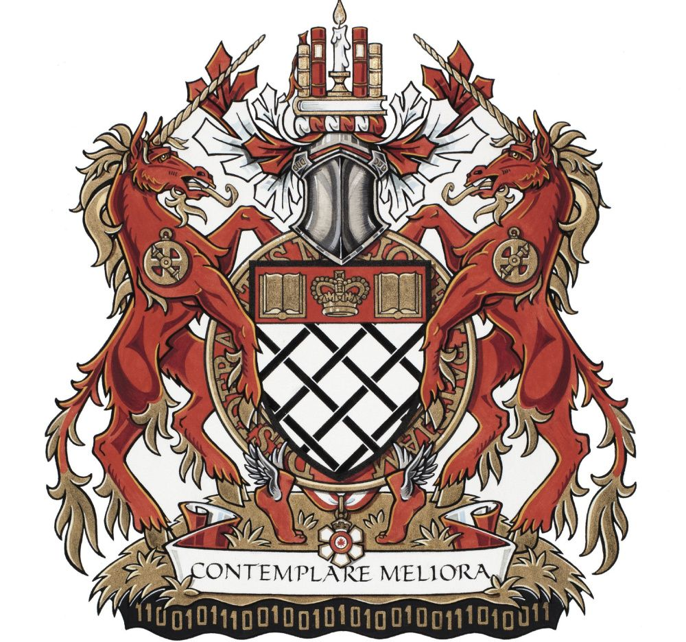 Coat of Arms of Governor General of Canada David Lloyd Johnston