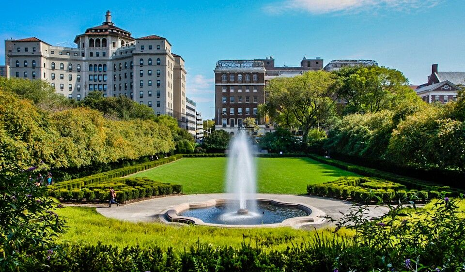 New York Central Park Conservatory Garden