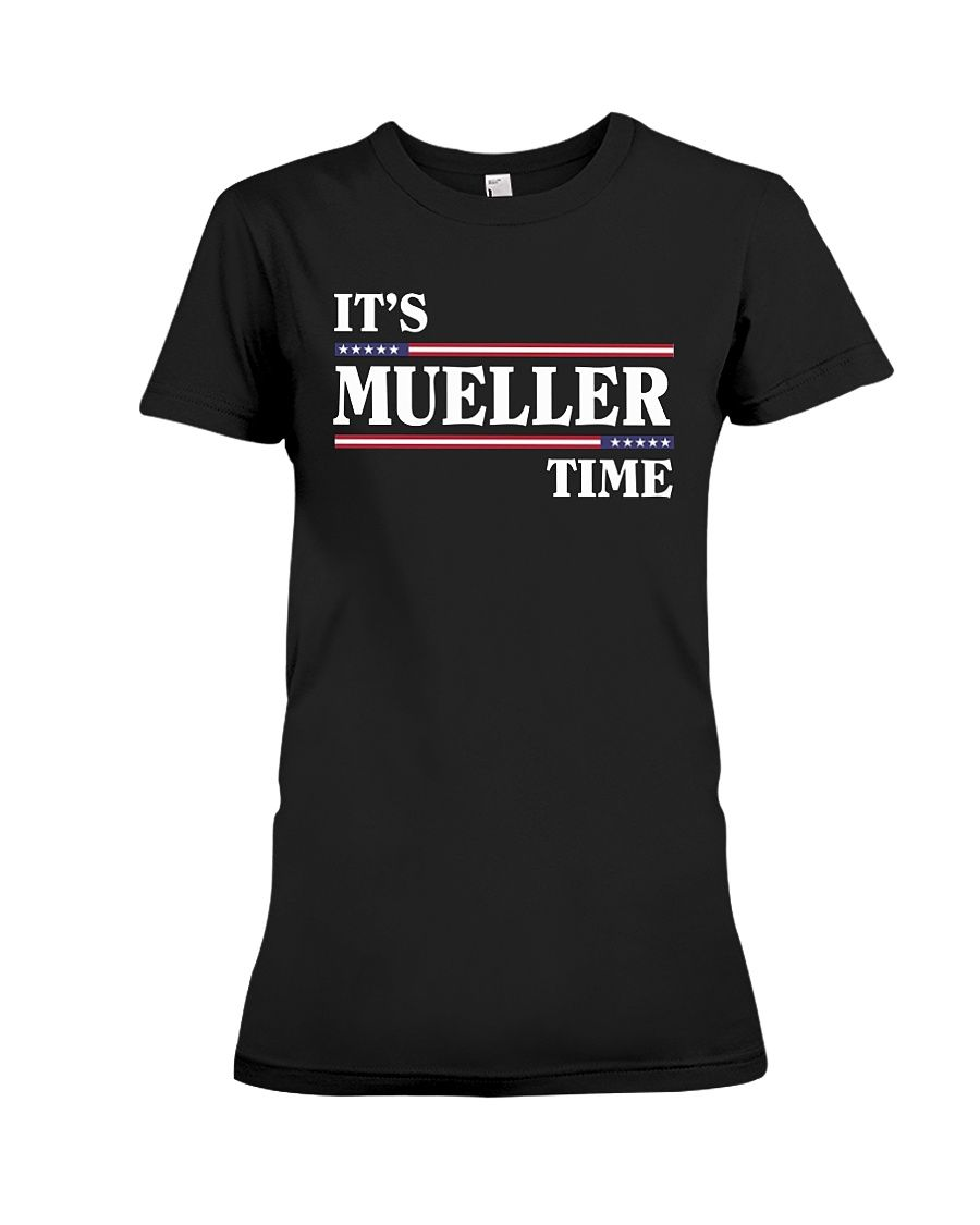 CHECK OUT OTHER AWESOME DESIGNS HERE!      Support Robert Mueller as he takes on Trump during the investigation. Mueller time, Impeachment time!  Original distressed Mueller v. Trump and Russia tee, Resist and Impeach Trump.      TIP: If you buy 2 or more (hint: make a gift for someone or team up) you'll save quite a lot on shipping.      Guaranteed safe and secure checkout via:  Paypal | VISA | MASTERCARD      Click theGREEN BUTTON, select your size and style.      ▼▼ ClickGREEN...