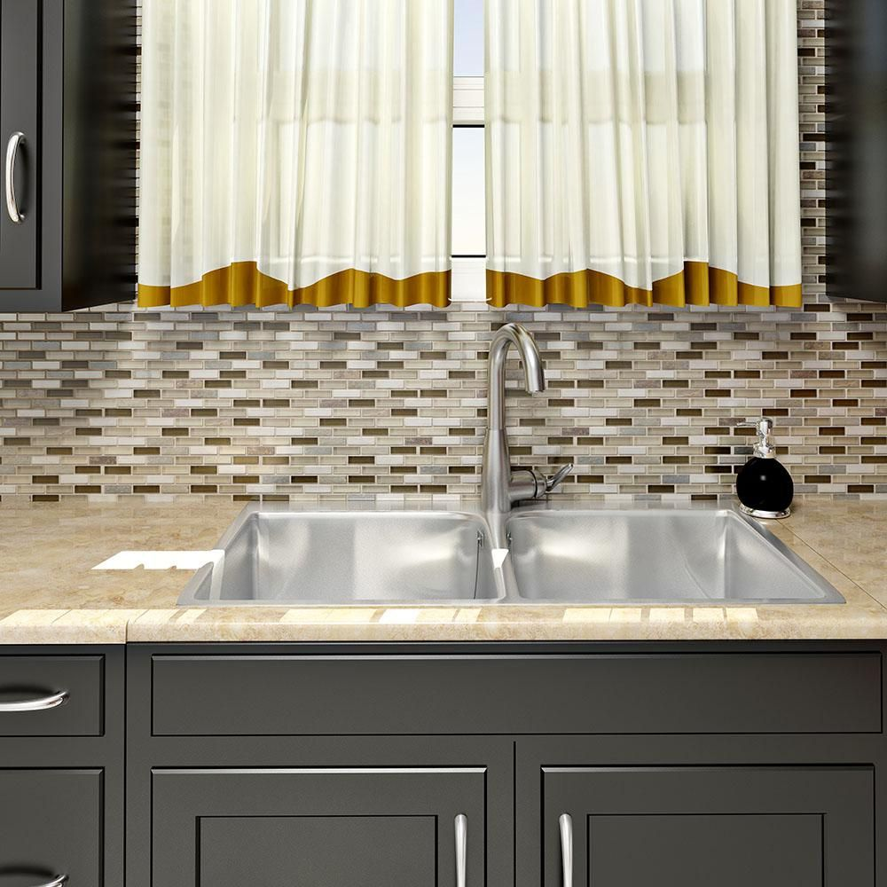 Merola Tile Tessera Subway Nassau 1134 Inx 1134 Inx 8 Mm Alluring 11 X 8 Kitchen Designs Design Inspiration