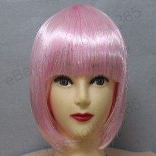 New Wholesale 16 Colors U Pick Fashionable BOB style Short Party Wig Wigs | eBay