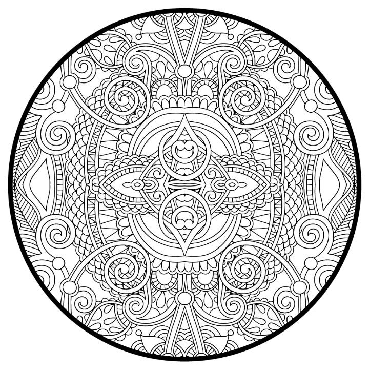 Pin On Coloring Pages Blank Adult Coloring