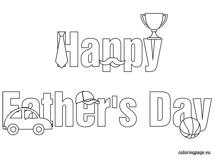 happy fathers day coloring pages - Google Search | Coloring ...