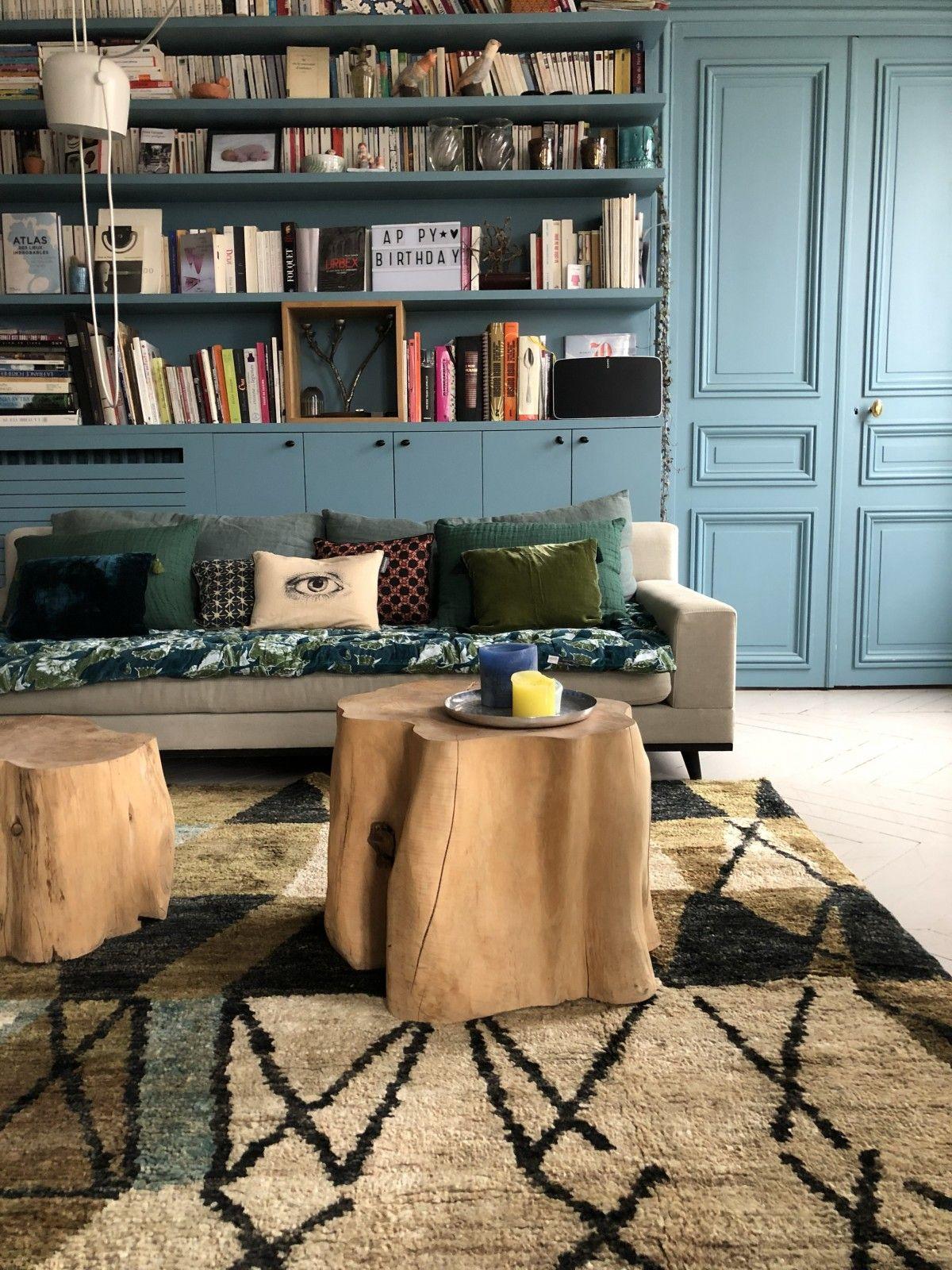 Ambiance Canape Edredon Foret Artichoke Idee De Decoration Monde Sauvage Rideaux Pret A Poser