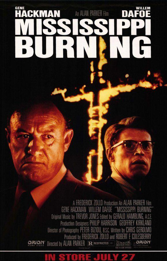 Mississippi Burning - Hackman & Dafoe, #movies #bestmovies #films