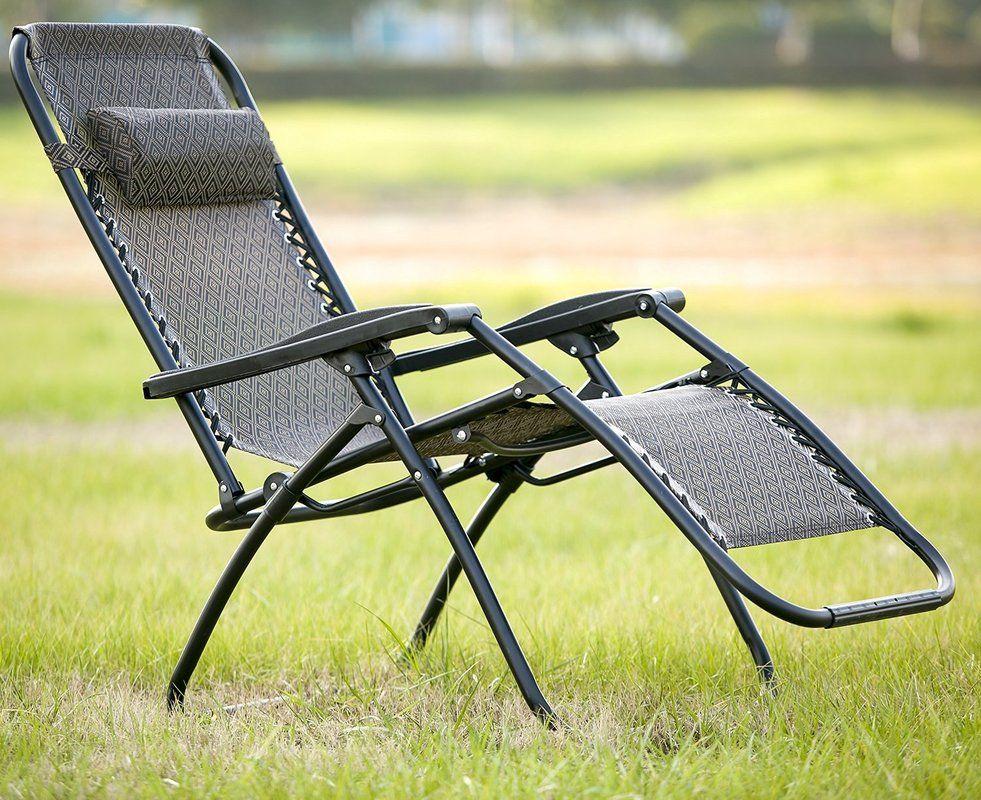 Save money on Zero Gravity Folding Lounge Chair (Set of 2