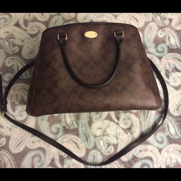 NWOT coach satchel Margot carryall Very elegant and roomy. No lowballing original price $375 Coach Bags Satchels