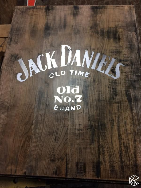 Table basse jack daniels Ameublement Somme - leboncoin.fr   HARLEY ...