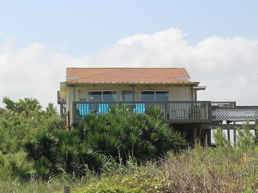 Beautiful Newly Remodeled Beach Front Home Surfside Beach Tx Usa Vacation House Rental  Star Rating
