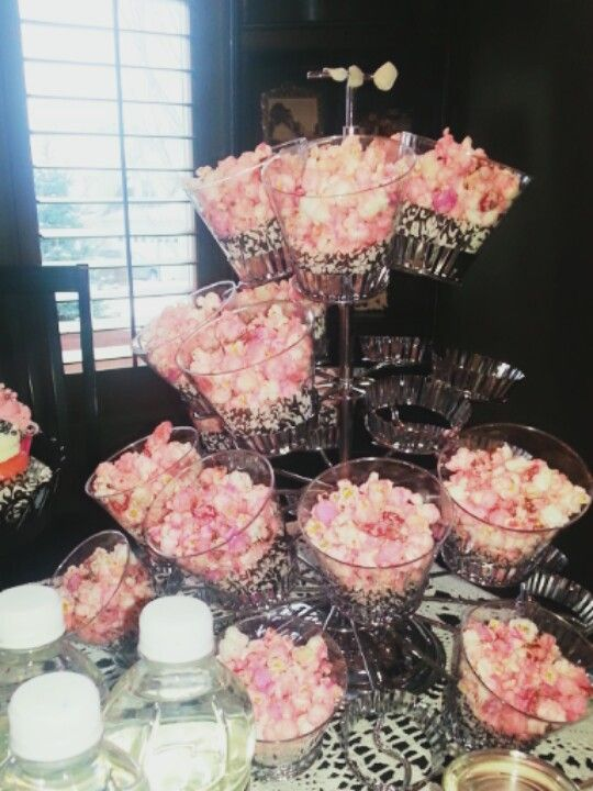 Pink Popcorn Baby Shower Awesome Ideas For Nene Pink Girl Baby