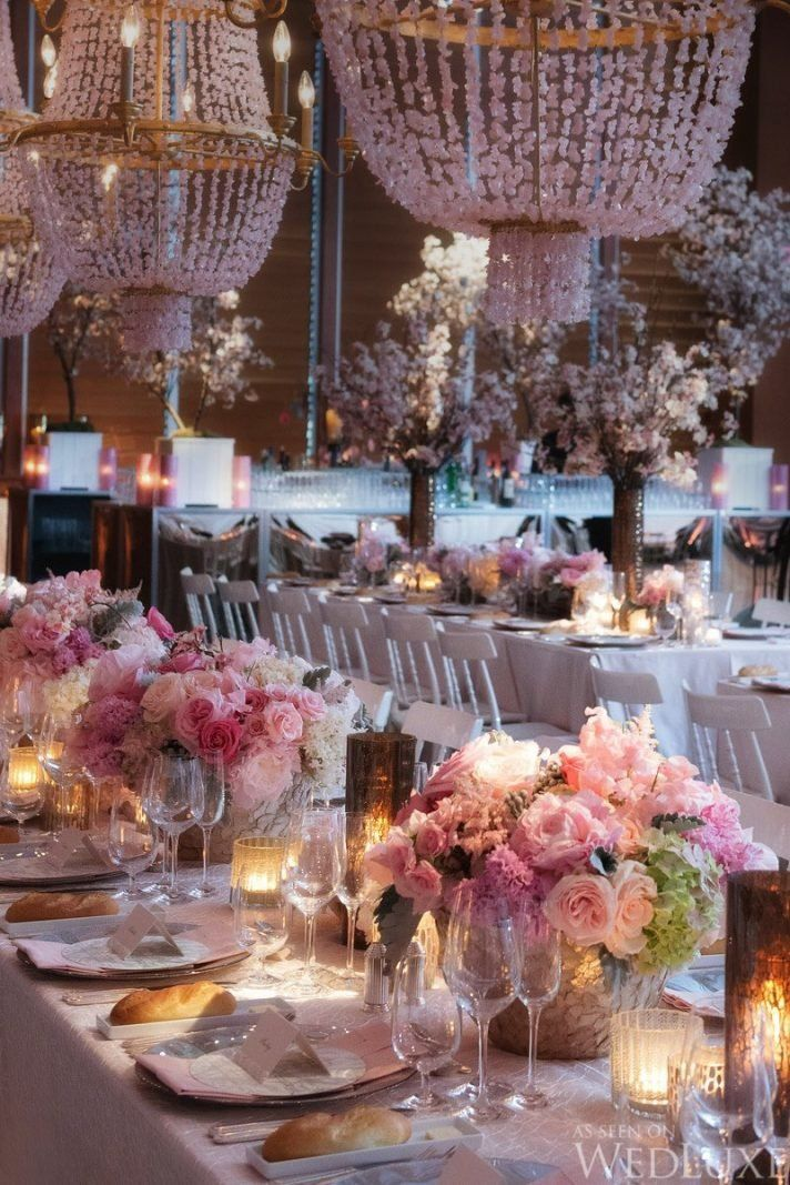 A Spring Wedding Filled with Cherry Blossoms and Pink Details – WedLuxe Magazine
