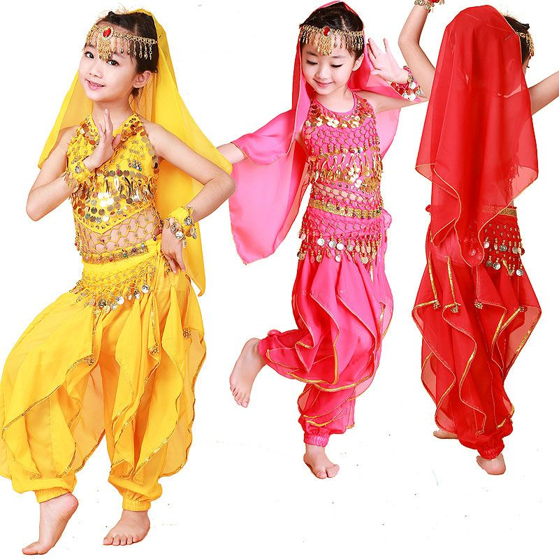 >> Click to Buy << Children Dancewear Kids Professional Belly Dance Costume Girls Egypt Dancing BELLYDANCE Costumes for Girls Top&Shirt&Chain&Pant #Affiliate