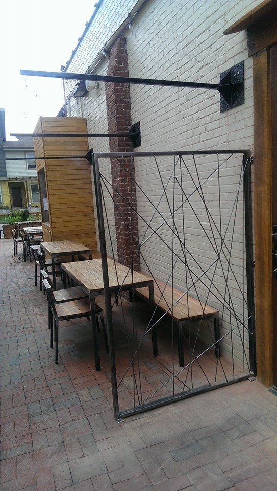Tables And Steel Work By Metalfreddesign At Holland House