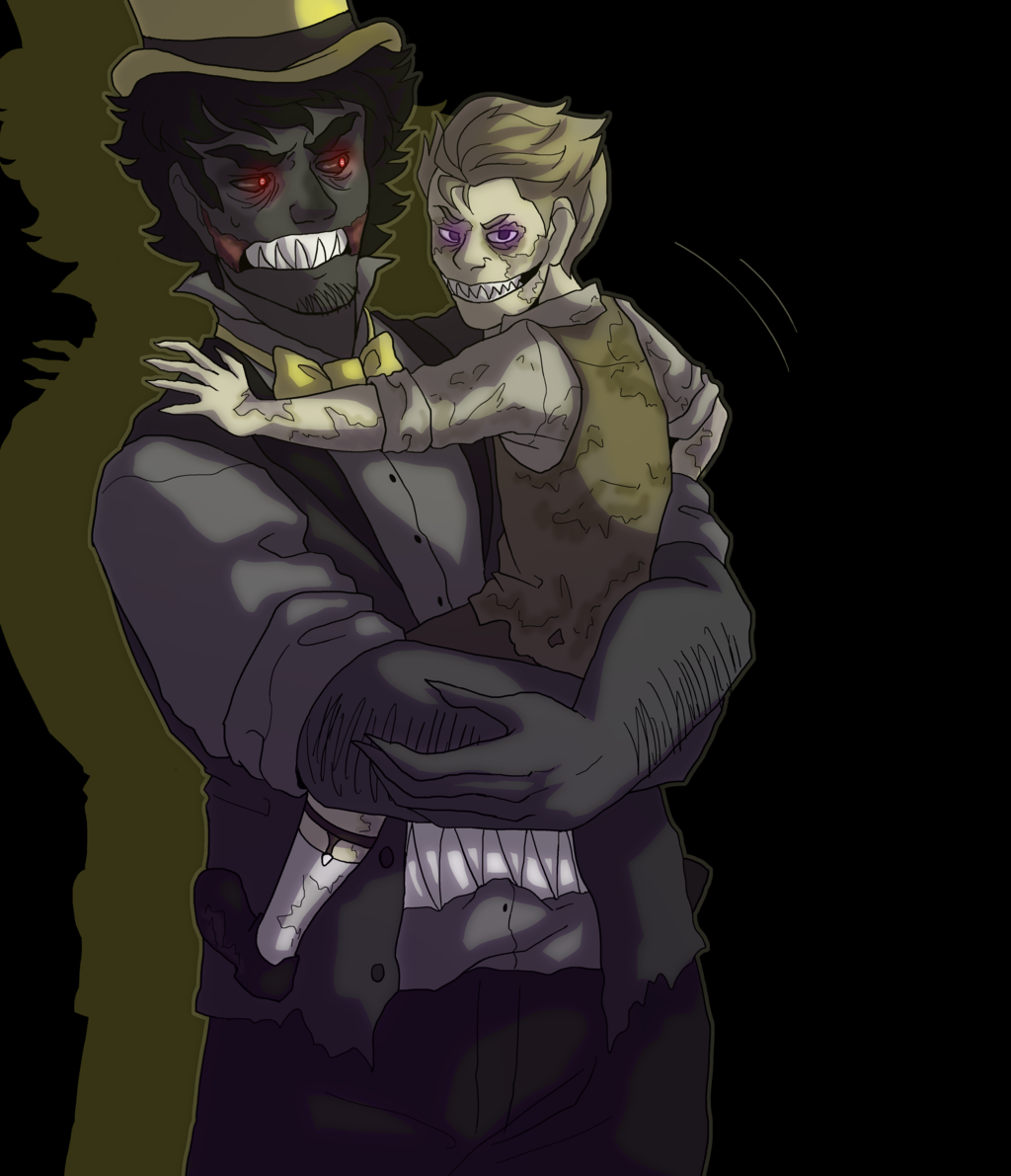 Nightmare And Plushtrap By Neomi Trix On Deviantart Better Check