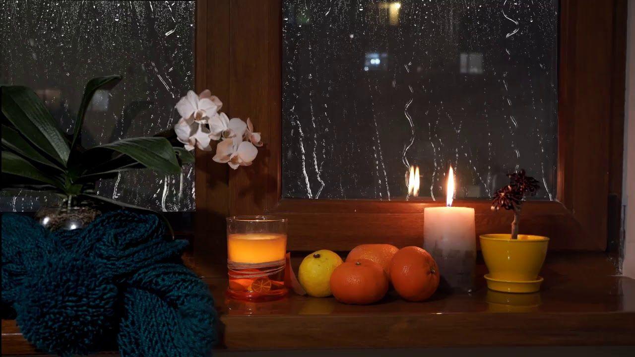 gentle night rain, soft rain, night rain, Night Rain for Sleep