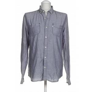 Herren  Bekleidung  Hemden Levis Levis Herren Hemd blau kein Etikett INT M Gr. INT M Farbe: blau Material: kein Etikett Muster: Sichtmaterial: Jeans -  Herren INT M
