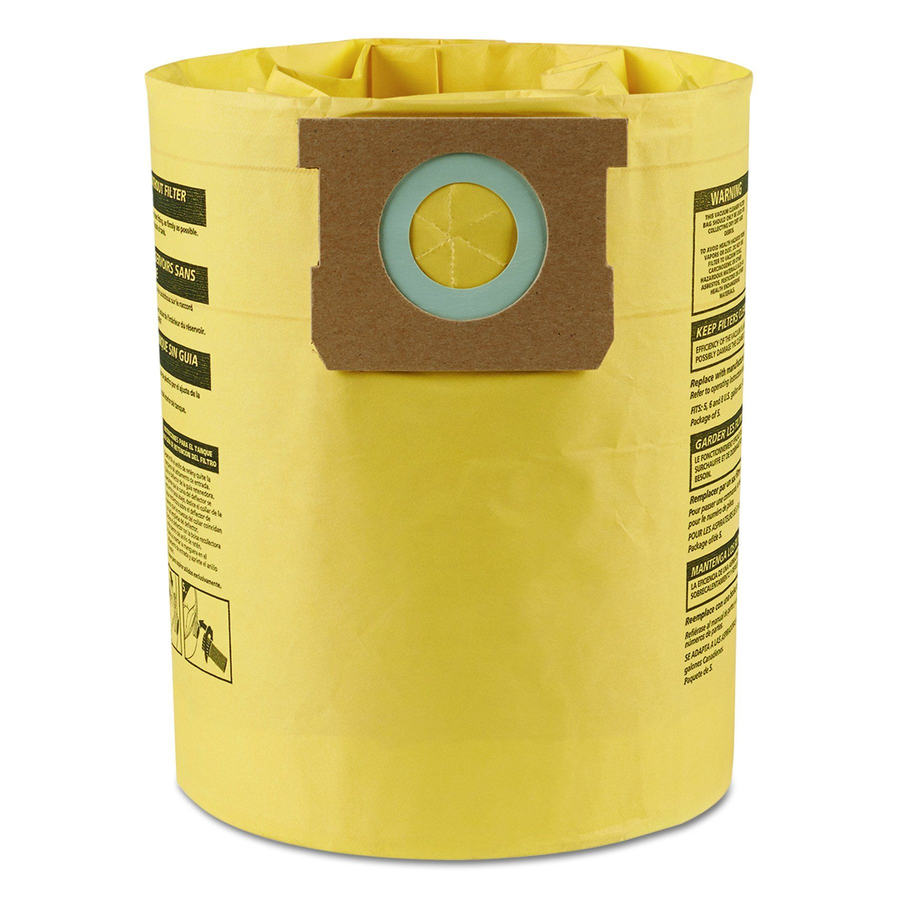 Shop-Vac 90106-00 Genuine Mighty Mini Collection Filter Bags