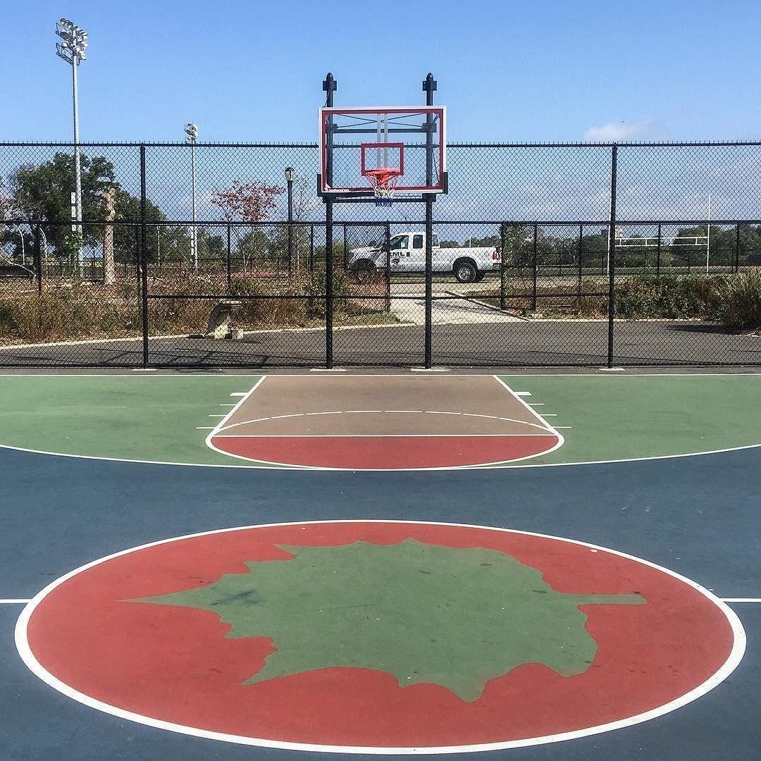 Latergram Coneyisland Is Like A Disease Of The Mind Hoops Basketball Playground Doinitinthepark Slamhoops Hoo Usa Basketball City Basketball Diaries