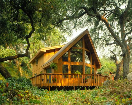 Picture of prow house number 18542 from lindal cedar homes for Lindal log cabin homes