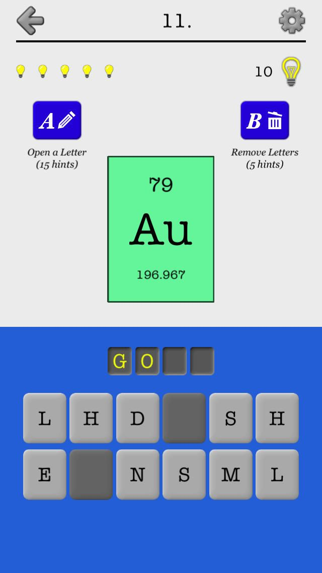Iphone app chemical elements of the periodic table name quiz and iphone app chemical elements of the periodic table name quiz and flashcards games educational 4 099 now free you urtaz Images