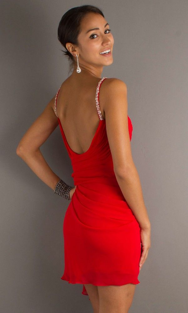 hemsandsleeves.com red cocktail dresses (09) #cutedresses ...