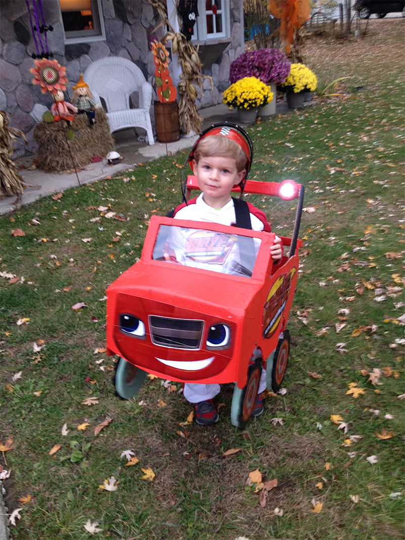 This Little Blaze And The Monster Machines Fan Has An Outstanding