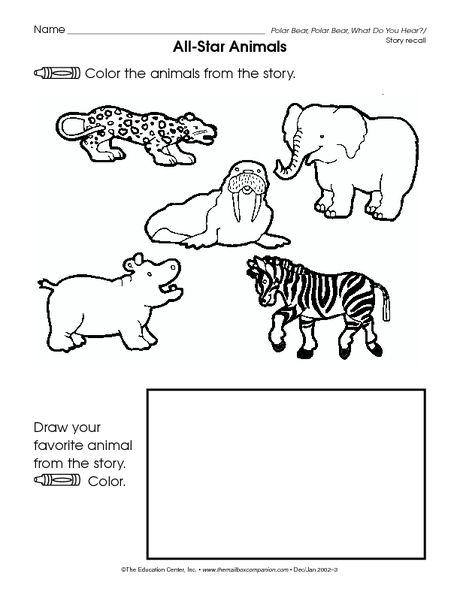 All Star Animals: Polar Bear, Polar Bear, What Do You Hear