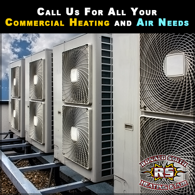 Need commercial heating or air conditioning repair? We've