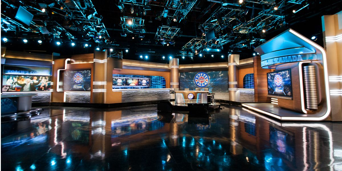 Hockey Night In Canada Escenografia