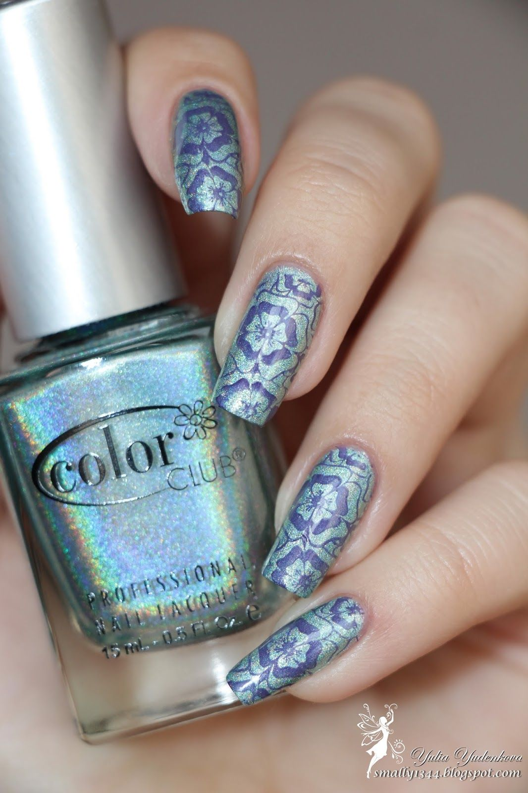 Color Club 981 Angel Kiss Stemping Lesly Ls 111