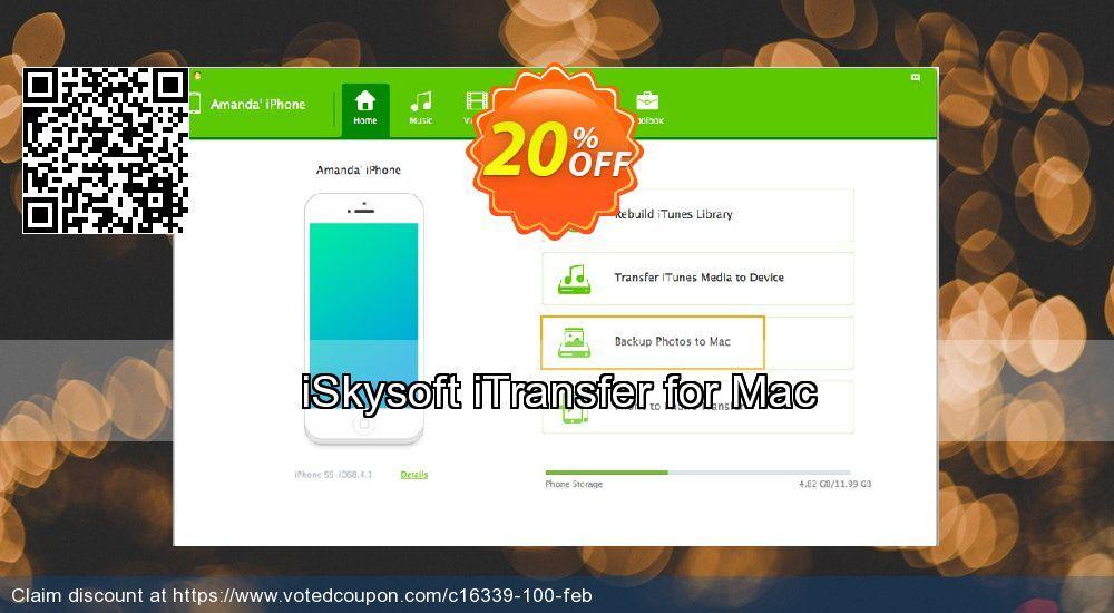 Buy iSkysoft iTransfer for Mac Online Securely | iSkysoft