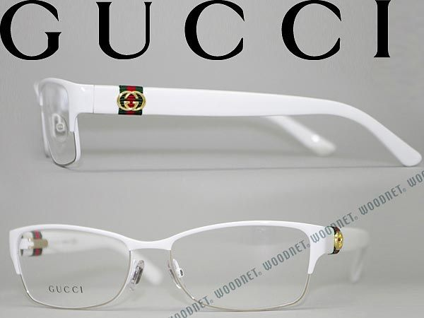 Eyeglasses White Frame : Gucci glasses white thurmont type GUCCI eyeglasses ...